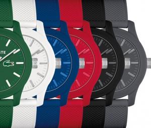 Nouvelle collection de montres Lacoste.12.12