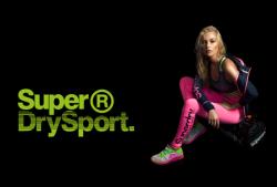Une nouvelle collection sport féminine pour Superdry