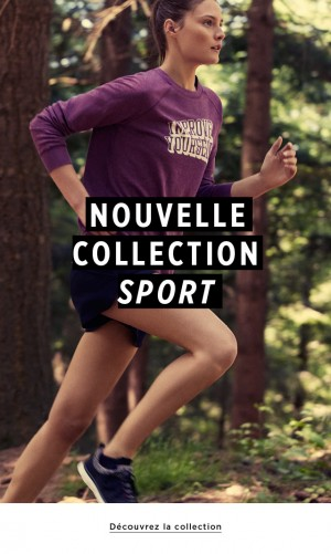 Nouvelle collection sportswear par Mango