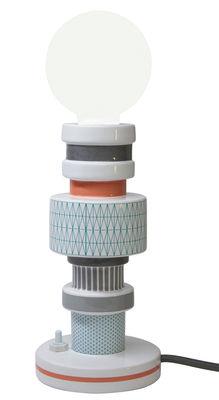 Lampe de table Moresque / Porcelaine Motifs Turnot – Seletti