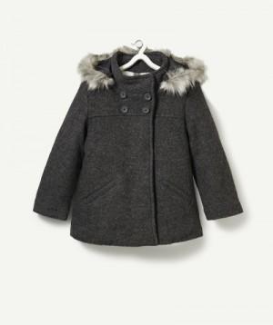 LE MANTEAU VIOLIN GRIS CHINE ANTHRACITE, Manteau – Blouson, mode enfant | Tape à l'œil