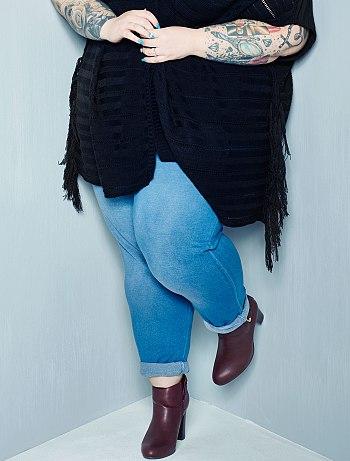 b7346e4aab7a5 Pantalon coupe jogging Grande taille femme - Kiabi - 17,50€