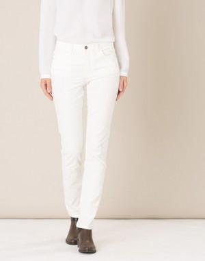 Pantalon crème en velours William – 123