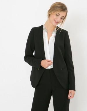 Veste de tailleur noire Maite – 123