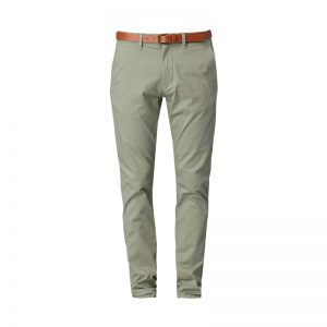 Pantalon chino vert ceinturé Yard Sea – Selected Homme