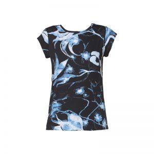 T-shirt marine imprimé graphique Daph – Diesel