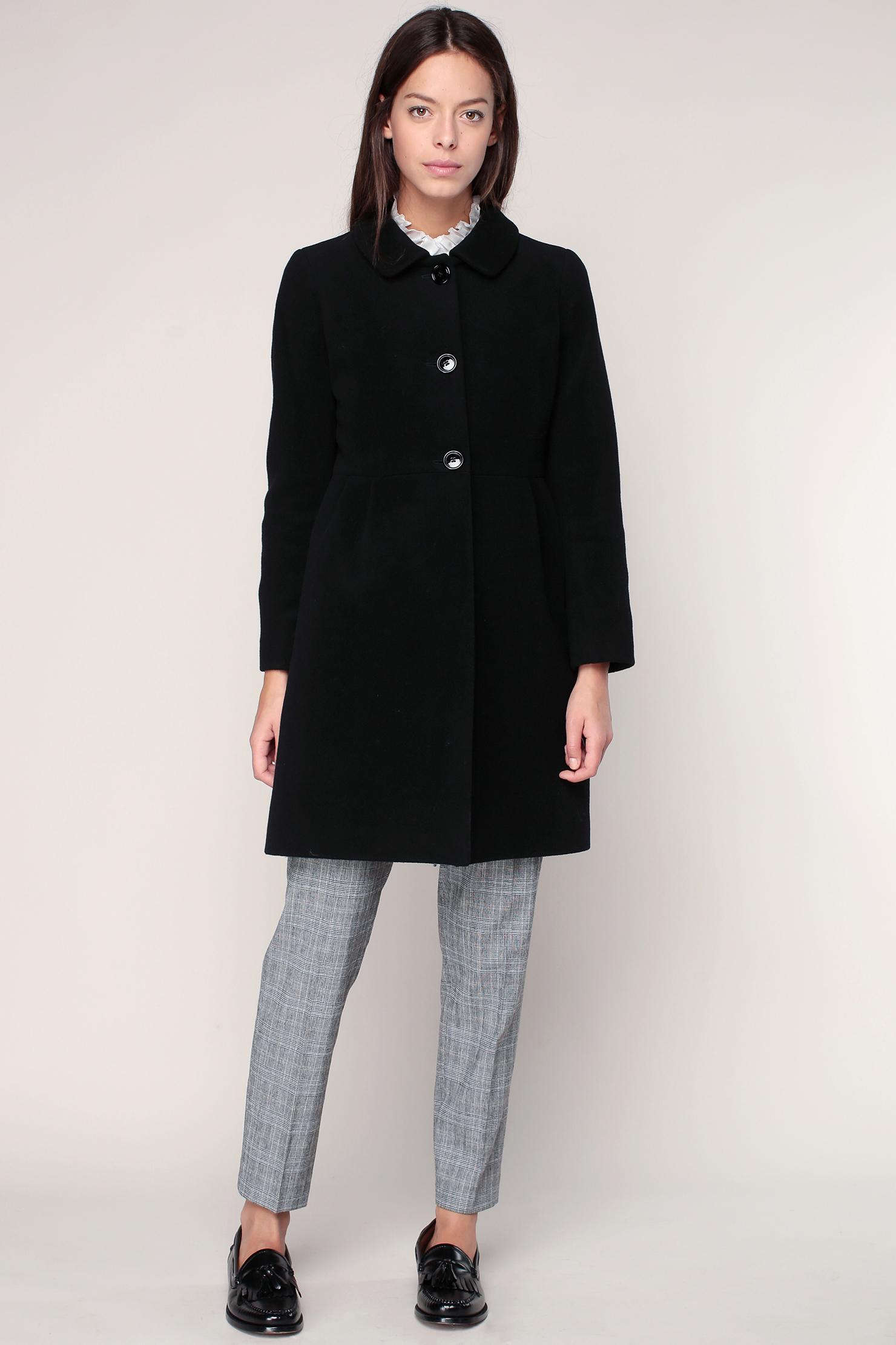 A shopper sur   monshowroom.com · Manteau laine vierge noir Michelle – Pablo  de Gérard Darel 2e3fc030a471