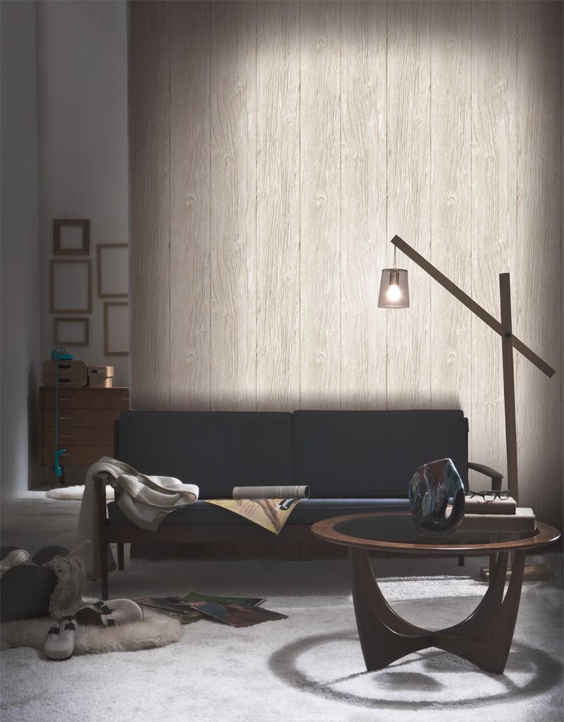 papier peint planches de bois flott koziel. Black Bedroom Furniture Sets. Home Design Ideas