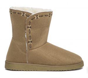 Boots fourré camel  Eram