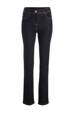 Jean basique coupe droite Bleu Coton – Femme Taille 36 – Bréal