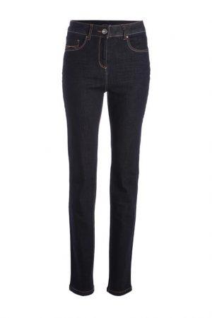 Jean basique taille standard Bleu Elasthanne – Femme Taille 38 – Bréal