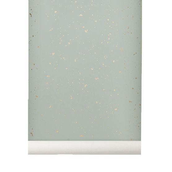 papier peint confetti menthe ferm living. Black Bedroom Furniture Sets. Home Design Ideas
