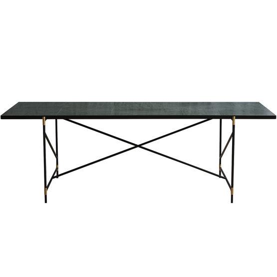 table manger en marbre 230 vert handv rk. Black Bedroom Furniture Sets. Home Design Ideas