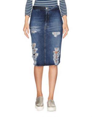 (+) PEOPLE Jupe en jean femme