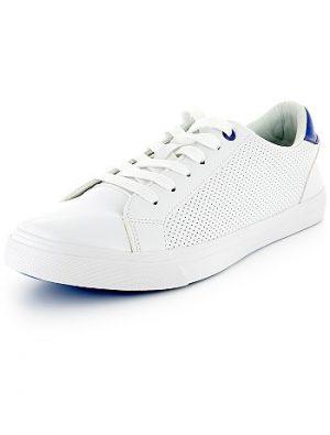 Baskets sneakers blanches KIABI