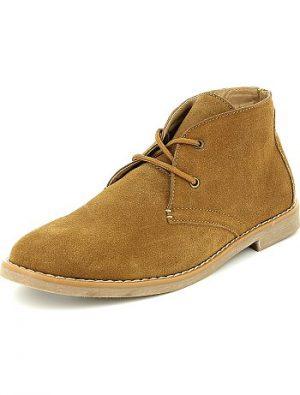 Boots en cuir KIABI