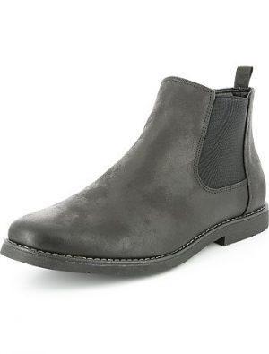 Chelsea boots aspect vieilli KIABI