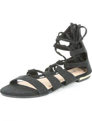 Sandales style spartiate en suédine KIABI