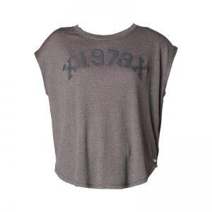 T-shirt gris oversize Zola – Diesel