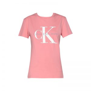 T-shirt rose imprimé logo – Calvin Klein