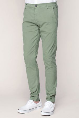 Pantalon chino vert Honeluca – Selected Homme
