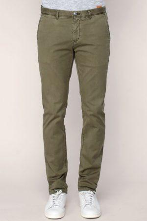Pantalon vert militaire délavé – Scotch & soda