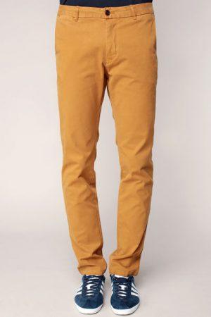 Pantalon regular slim nutmeg avec ceinture – Scotch & soda