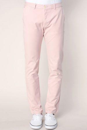 Pantalon regular slim sunset dust avec ceinture – Scotch & soda