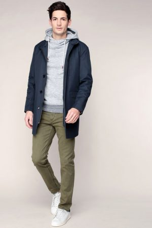 Manteau fin marine Greg – Selected Homme