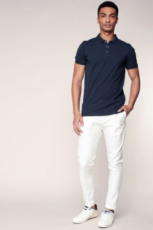 Polo marine Damon – Selected Homme