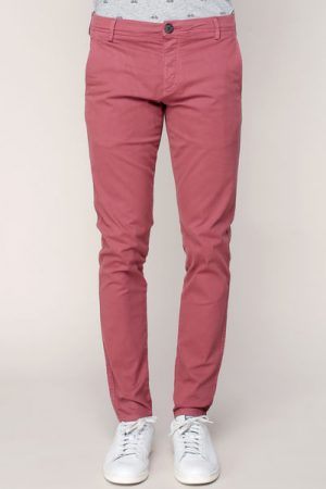 Pantalon chino slim acajou Honeluca – Selected Homme