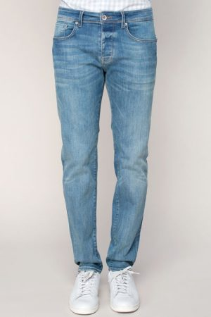 Jean slim stretch Medium blue denim Two Mario – Selected Homme