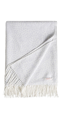 Couverture réversible, tissu doux à franges Esprit
