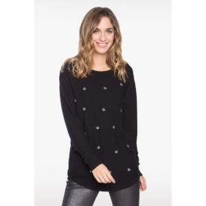 Pull détail broderie – BREAL
