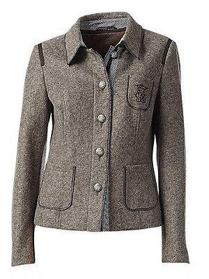 Blouson femme en laine style écolier très tendance femme B.C. Best Connections écru