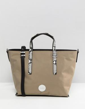 Calvin Klein – Petit Tote Bag – Gris