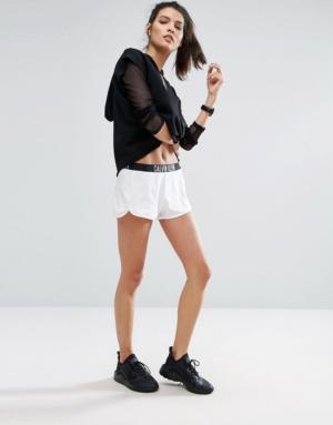 Calvin Klein – Power – Short confort avec logo – Blanc
