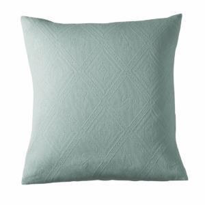 Housse coussin ou oreiller coton jacquard, INDO La Redoute Interieurs
