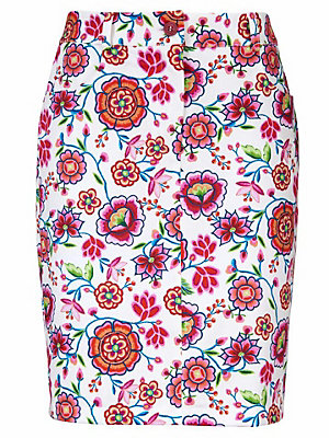 229f6d14bfe8 Jupe imprimée Bodyform femme Ashley Brooke multicolore