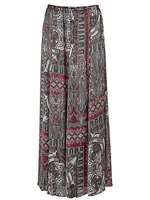 Jupe longue femme B.C. Best Connections multicolore