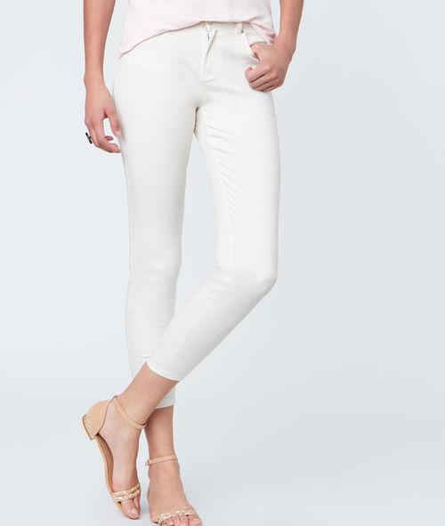 Pantalon capri en coton Etam