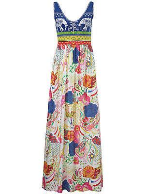 Robe imprimée femme Desigual multicolore