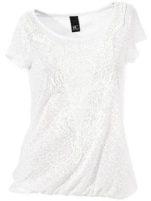T-shirt à encolure arrondie femme B.C. Best Connections blanc