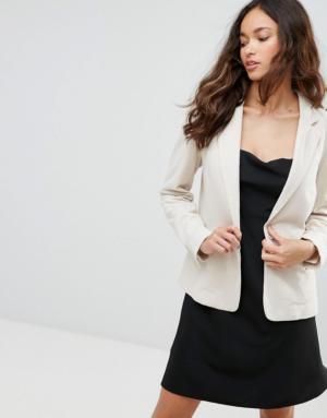 Vero Moda – Blazer tailleur – Beige