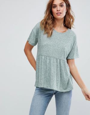 Vero Moda – T-shirt babydoll – Rose