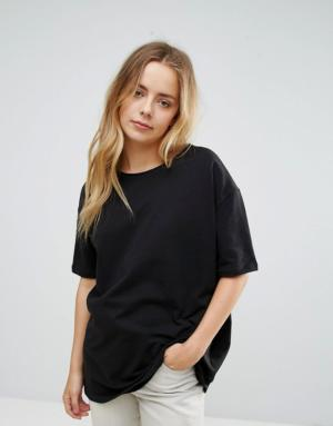 Vero Moda – T-shirt oversize – Noir