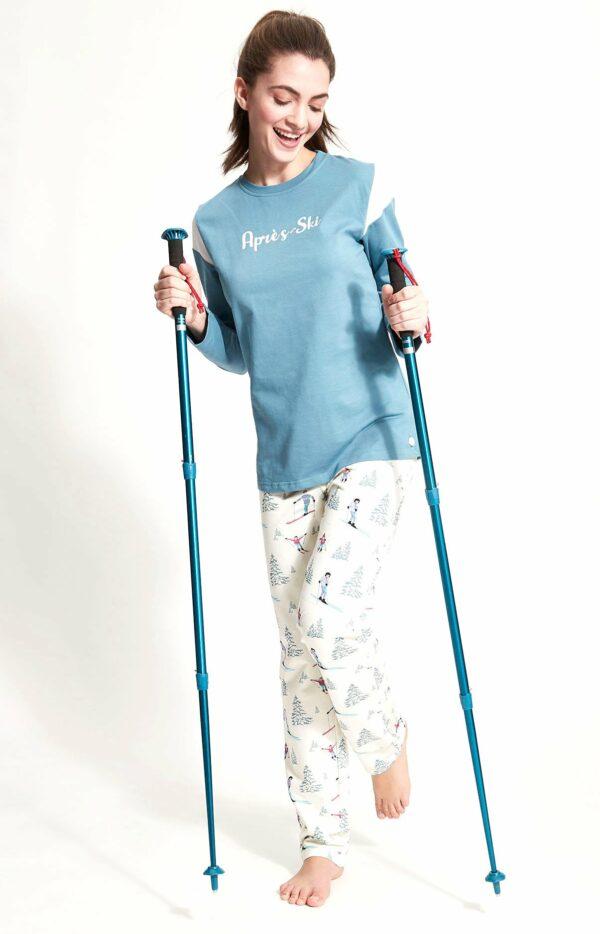 Pyjama long après ski blanc Arthur