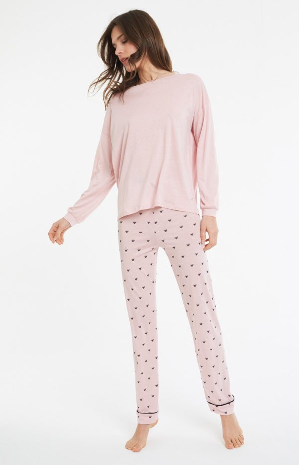 Pyjama long lyocell tasse Arthur