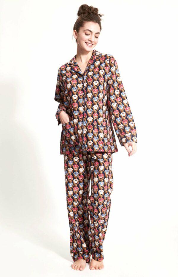 Pyjama long pilou teddy Arthur